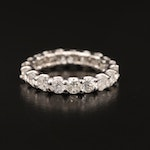 14K 2.94 CTW Diamond Eternity Band