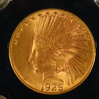 1926 Indian Head $10 Gold Eagle