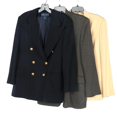 Ralph Lauren, Ann Taylor Loft and Jones New York Double-Breasted Jackets