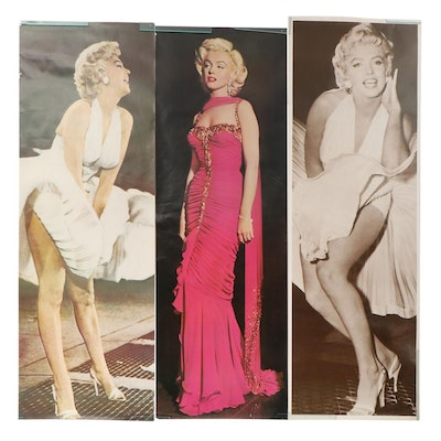 Life-Size Offset Lithograph Posters of Marylin Monroe