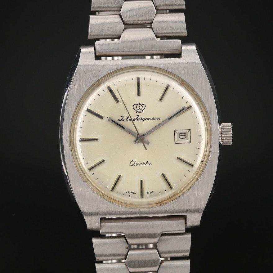Vintage Jules Jürgensen Quartz Wristwatch