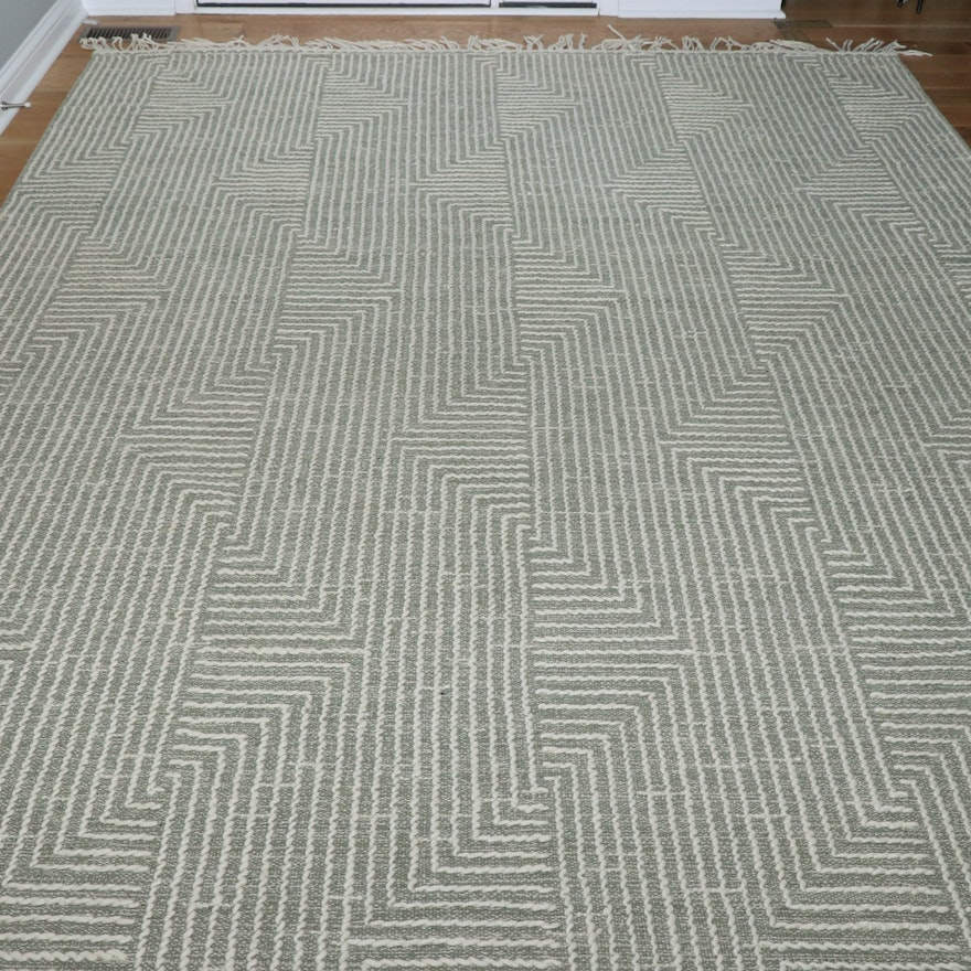 """7'9 x 9'9  Handwoven Magnolia Home by Joanna Gaines """"Newton"""" Area Rug"""