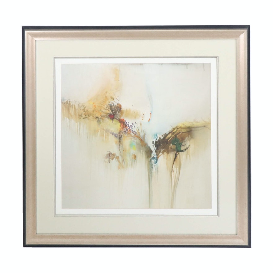 """Offset Lithograph after Sarah Stockhill """"Sonota II"""""""