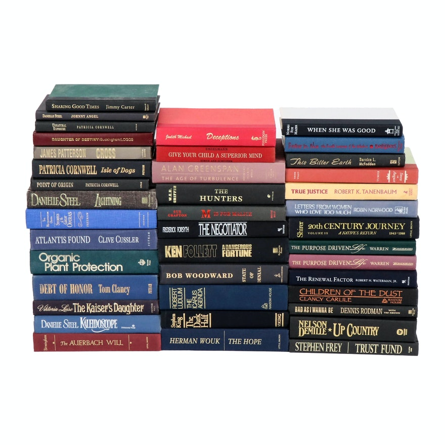 Suspense, Biographies, Historical Fiction, and More Books