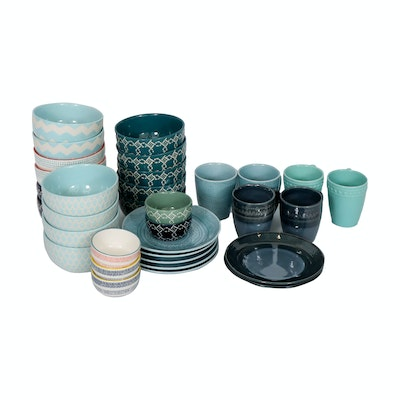 Threshold and Other Stoneware and Ceramic Dinnerware