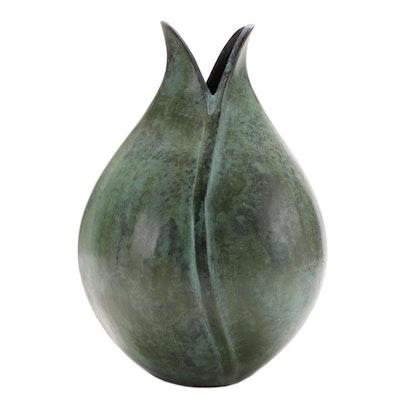 Department 56 Metal Bud Vase