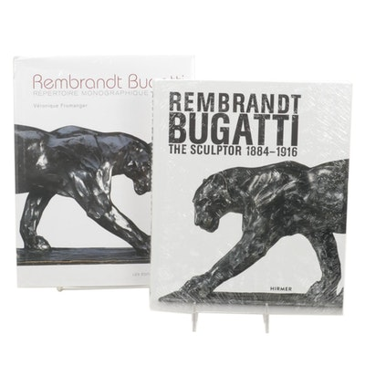 """""""Rembrandt Bugatti the Sculptor"""" Pair of Illustrated Monographs, 2010s"""