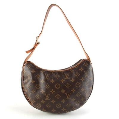 Louis Vuitton Pochette Croissant Bag in Monogram Canvas
