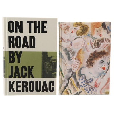 "Folio Society ""On the Road"" by Kerouac and ""Goodbye to Berlin"" by Isherwood"