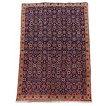 3'4 x 5'1 Hand-Knotted Persian Tabriz Area Rug, circa 1960s