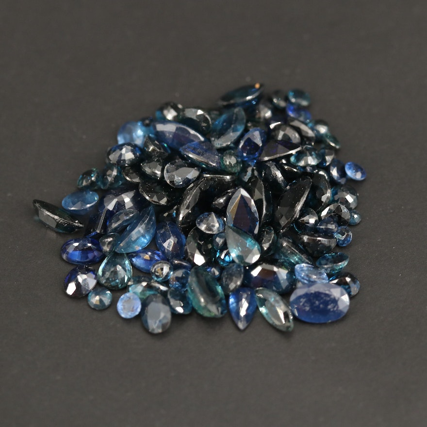 Loose 25.21 CTW Faceted Sapphires