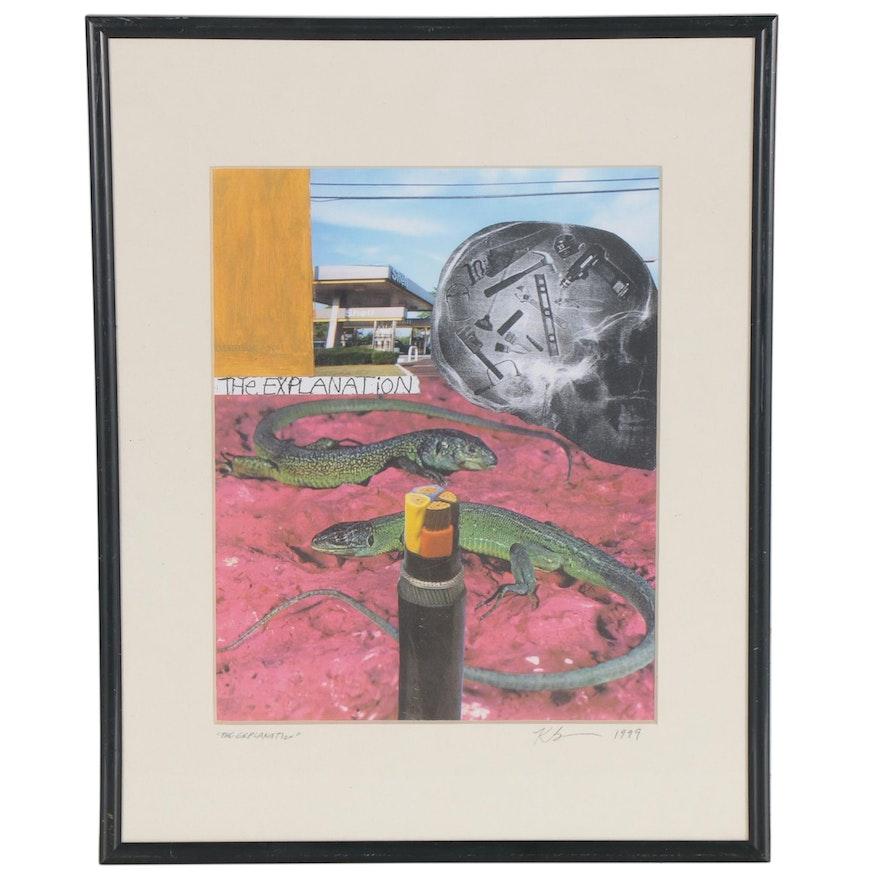 "Keith Banner Giclée ""The Explananation,"" 1999"