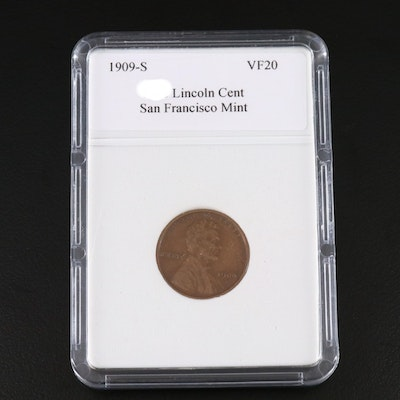 Key Date 1909-S Lincoln Wheat Cent