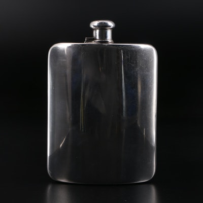 Tiffany & Co. Sterling Silver Flask, Early to Mid 20th Century