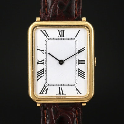 Chopard 18K Gold Stem Wind Wristwatch
