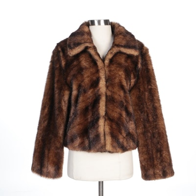 Terry Lewis Classic Luxuries Faux Fur Jacket