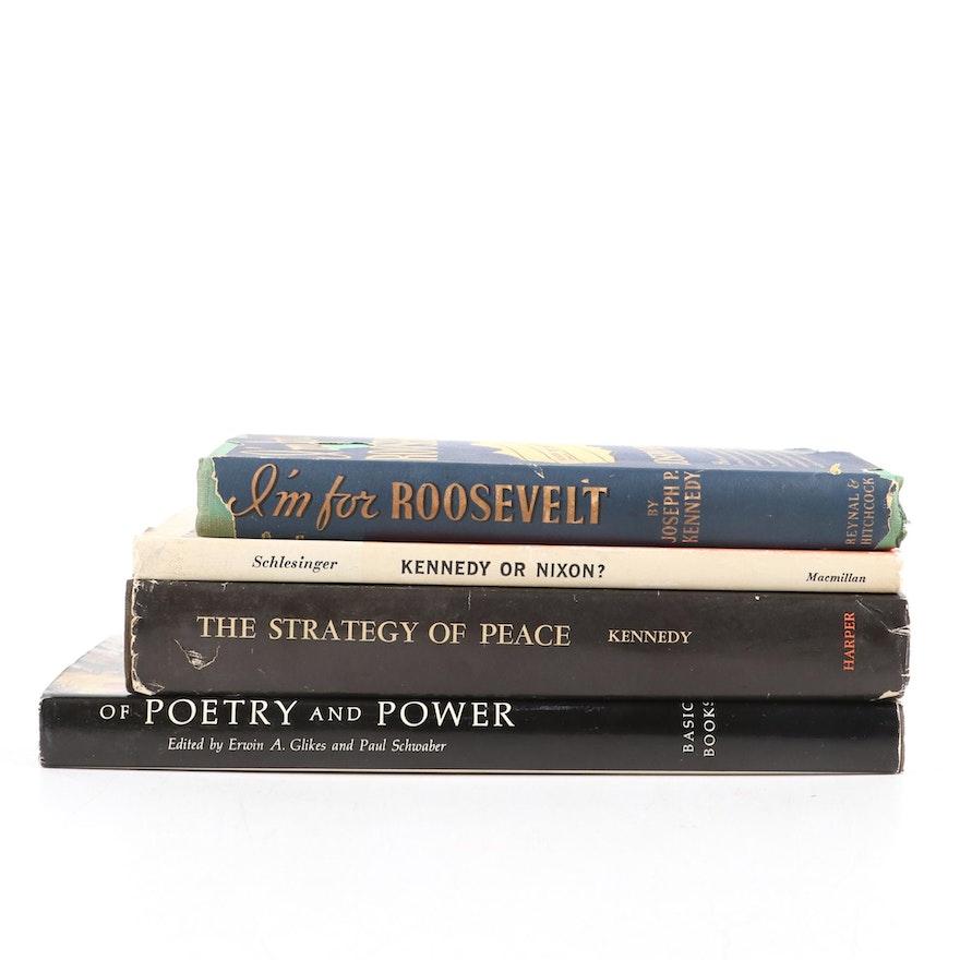 Biographical Books on John F. Kennedy, Franklin D. Roosevelt, and Richard Nixon