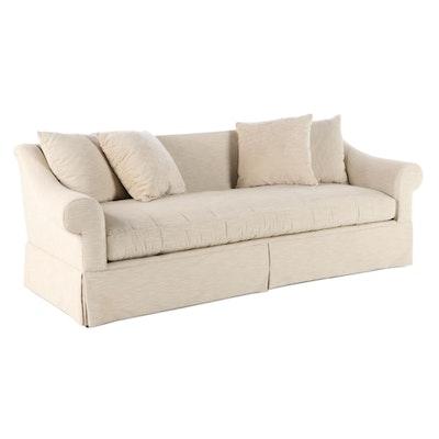 Contemporary Custom-Upholstered Sofa