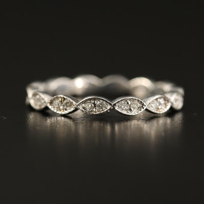 14K Diamond Eternity Ring