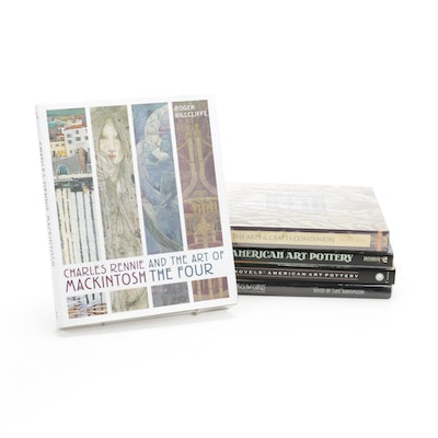 """""""The Arts & Crafts Companion"""" and More Illustrated Art History Books"""