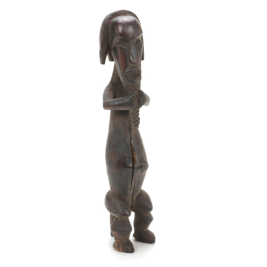 West African Style Handcrafted Wood Figure
