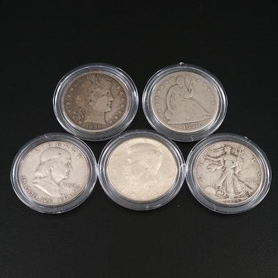 U.S. Silver Half Dollar Type Collection
