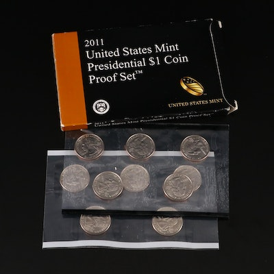 Statehood Quarters Sets and Presidential Dollar Proof Set