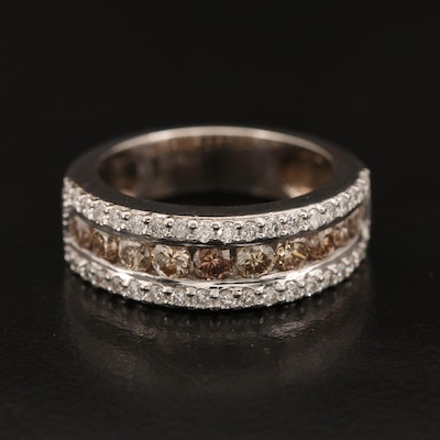 14K 1.37 CTW Diamond Band