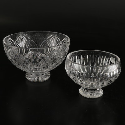 """Marquis by Waterford"" and Waterford's ""Granville"" Crystal Bowls"