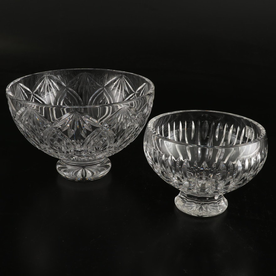 """""""Marquis by Waterford"""" and Waterford's """"Granville"""" Crystal Bowls"""