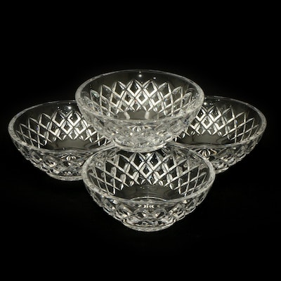 "Waterford Crystal ""Alana"" Bowls, Late 20th Century"