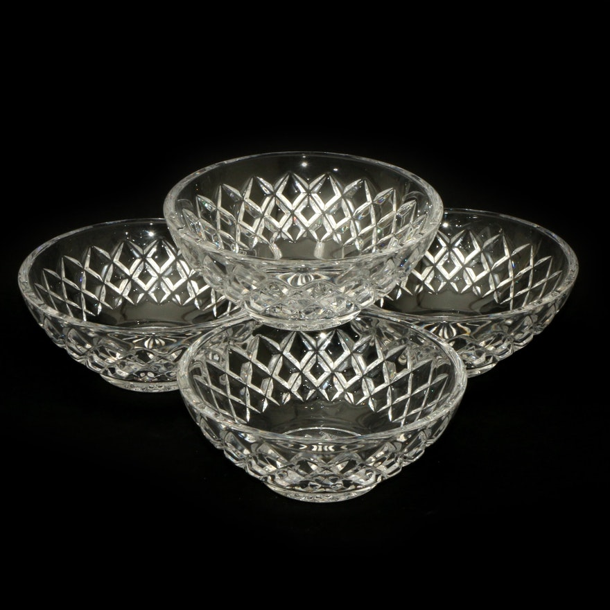 """Waterford Crystal """"Alana"""" Bowls, Late 20th Century"""