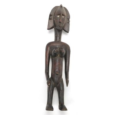 Bamana Style Wooden Figure, Mali