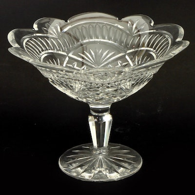 Large Waterford Crystal Artisan Collection Compote