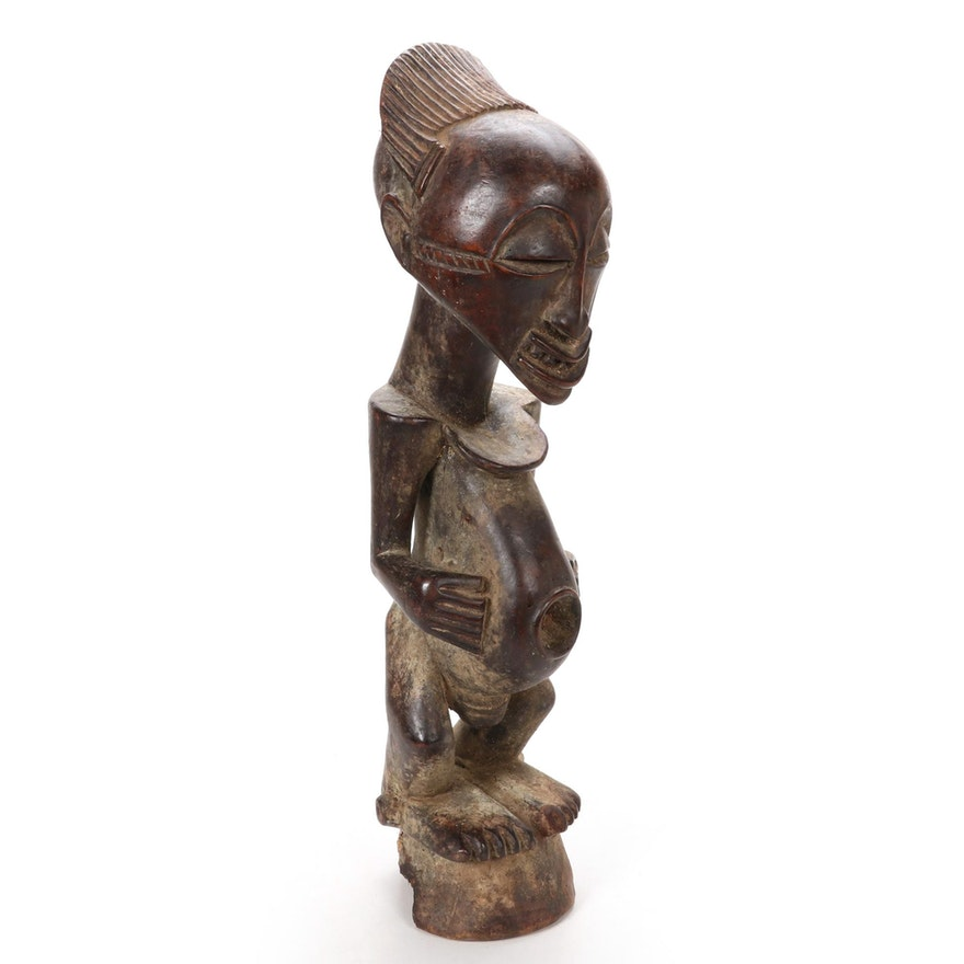 Songye Style Handcrafted Wood Figure, Central Africa
