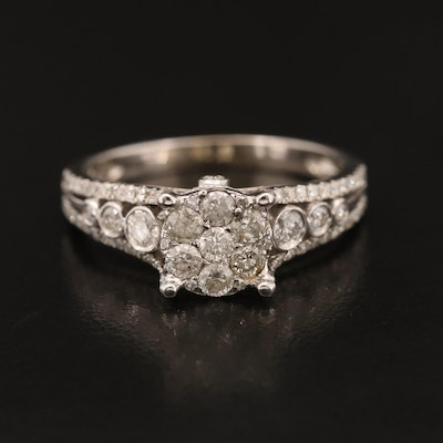 10K 1.46 CTW Diamond Ring