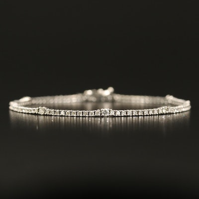 14K 1.45 CTW Diamond Tennis Bracelet