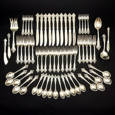 "Towle ""El Grandee"" Sterling Silver Flatware and Serving Utensils"