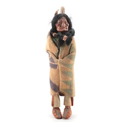 Skookum Style Doll, Mid-20th Century