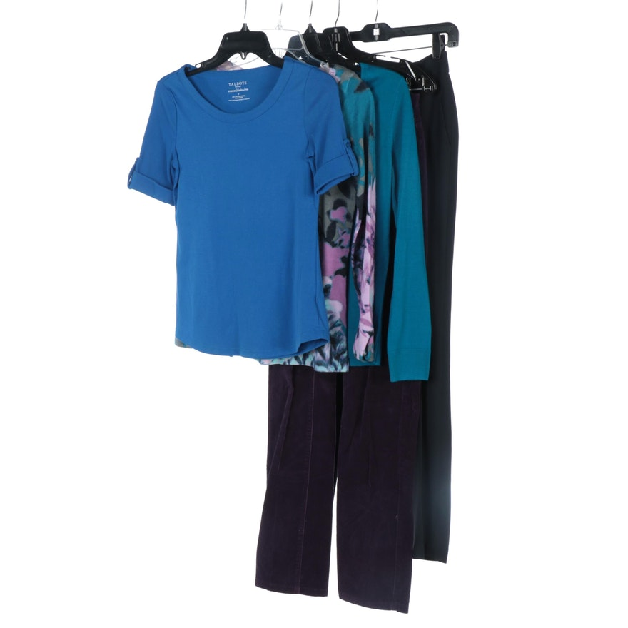 Talbots Merino Wool Sweaters and Top with Other Brands Pants