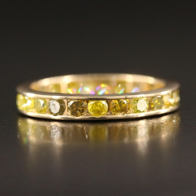 14K 1.15 CTW Diamond Eternity Band