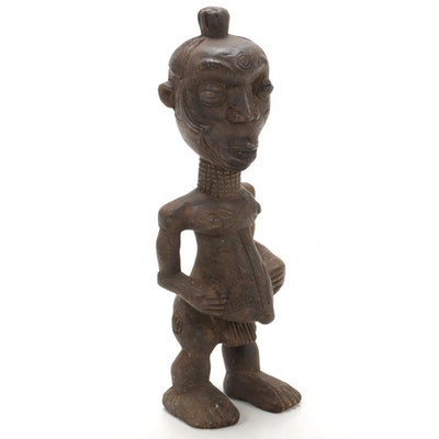 Lulua Handcrafted Wooden Figure, Democratic Republic of the Congo