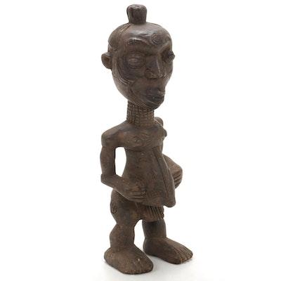 Lulua Handcrafted Wooden Figure, Democratic Republic of the Congo