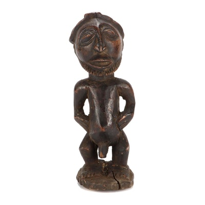 Hemba Style Wooden Figure, Democratic Republic of the Congo