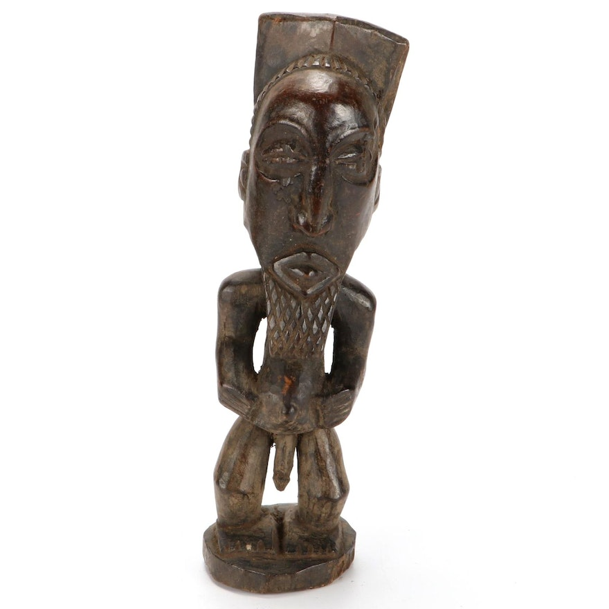 Central African Style Handcrafted Wood Figure