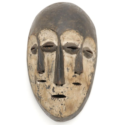 Lega Three-Faced Mask, Democratic Republic of the Congo