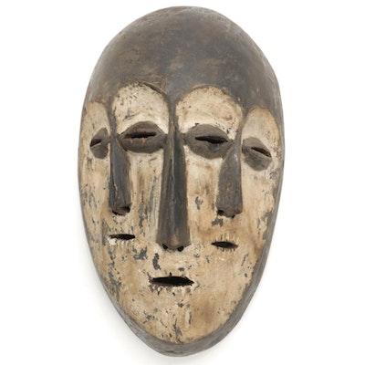 Lega Three-Faced Mask, Democratic Republic of the Congo