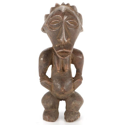 Songye Style Wooden Figure, Central Africa