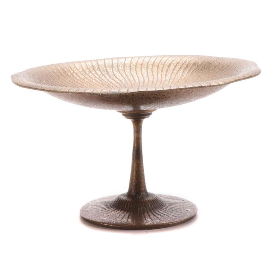 Tiffany Studios Gilt Bronze Pedestal Dish, Early 20th Century