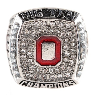 "Replica 2010 Ohio State ""Big Ten Champions"" Souvenir Football Ring"
